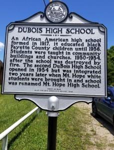 DuBois High Marker (2)